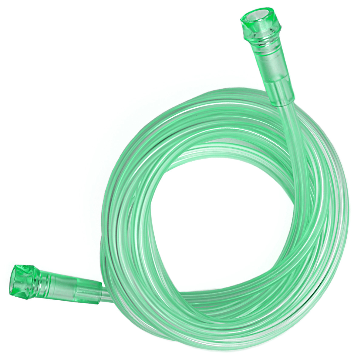 35 Foot Green Crush Resistant Multi-Channel Lumen Oxygen Supply Tubing (Case of 20)