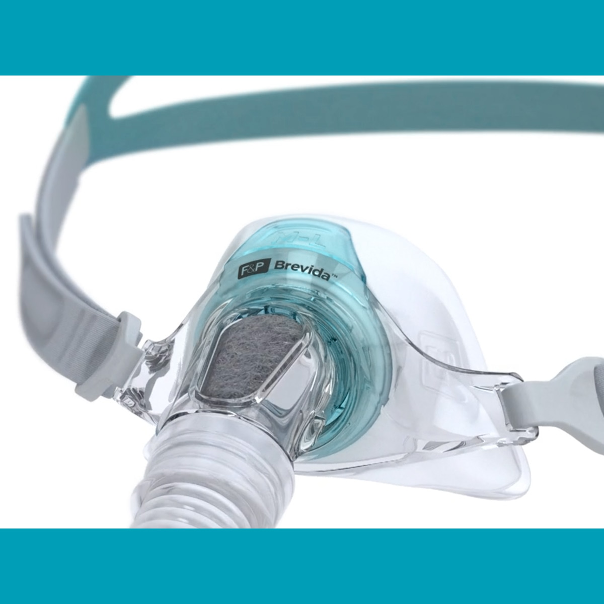 F&P Brevida Nasal Pillow CPAP/BiPAP Mask FitPack with Headgear