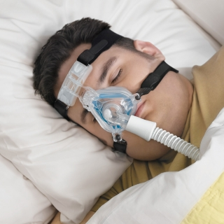 ComfortGel Blue Nasal CPAP/BiPAP Mask with Headgear