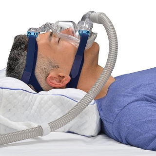 Contour CPAP Pillow 2.0 with Removable Fitted Cover - DISCONTINUED