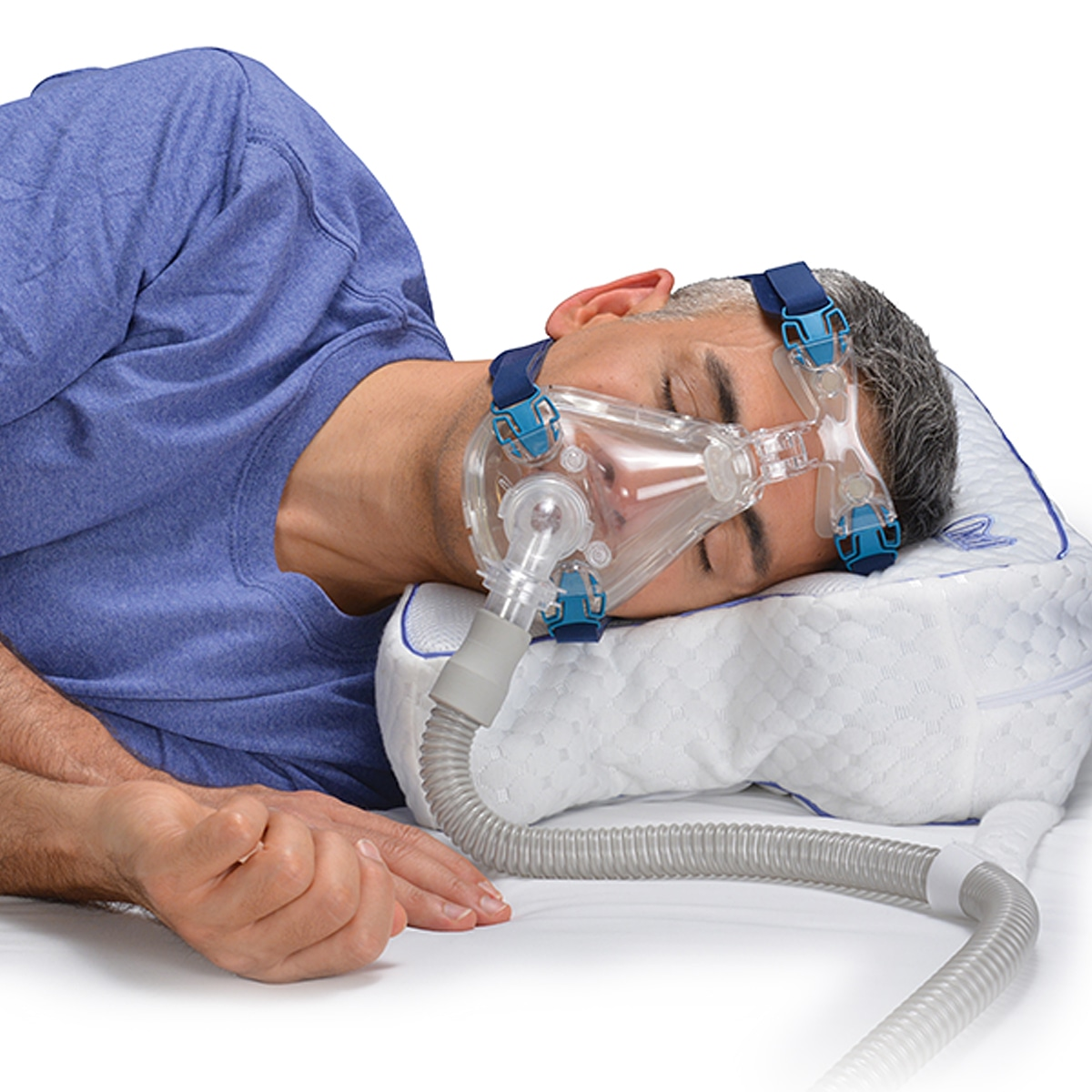 Contour CPAP Pillow 2.0 with Removable Fitted Pillow Cover
