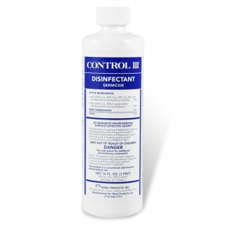Control III Cleaner & Disinfectant for CPAP/BiPAP Masks & Equipment (16 Ounce Concentrate)