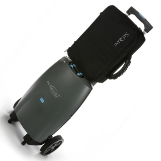 Black Travel Case for Eclipse 5 Portable Oxygen Concentrators