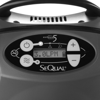 Eclipse 5 Portable Oxygen Concentrator Package (Continuous & Pulse Dose)
