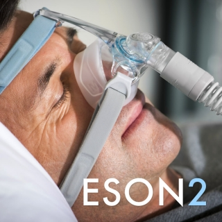 F&P Eson 2 Nasal CPAP/BiPAP Mask with Headgear