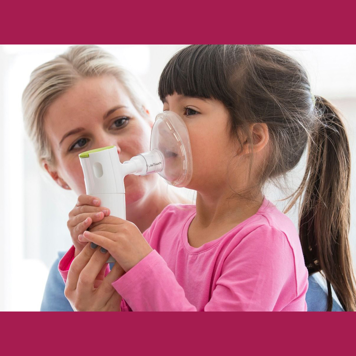 LiteTouch Face Mask for Philips InnoSpire Go Portable Nebulizers
