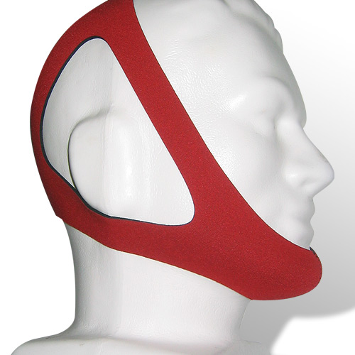 PureSom Ruby (Topaz) Adjustable Chinstrap for CPAP/BiPAP Therapy
