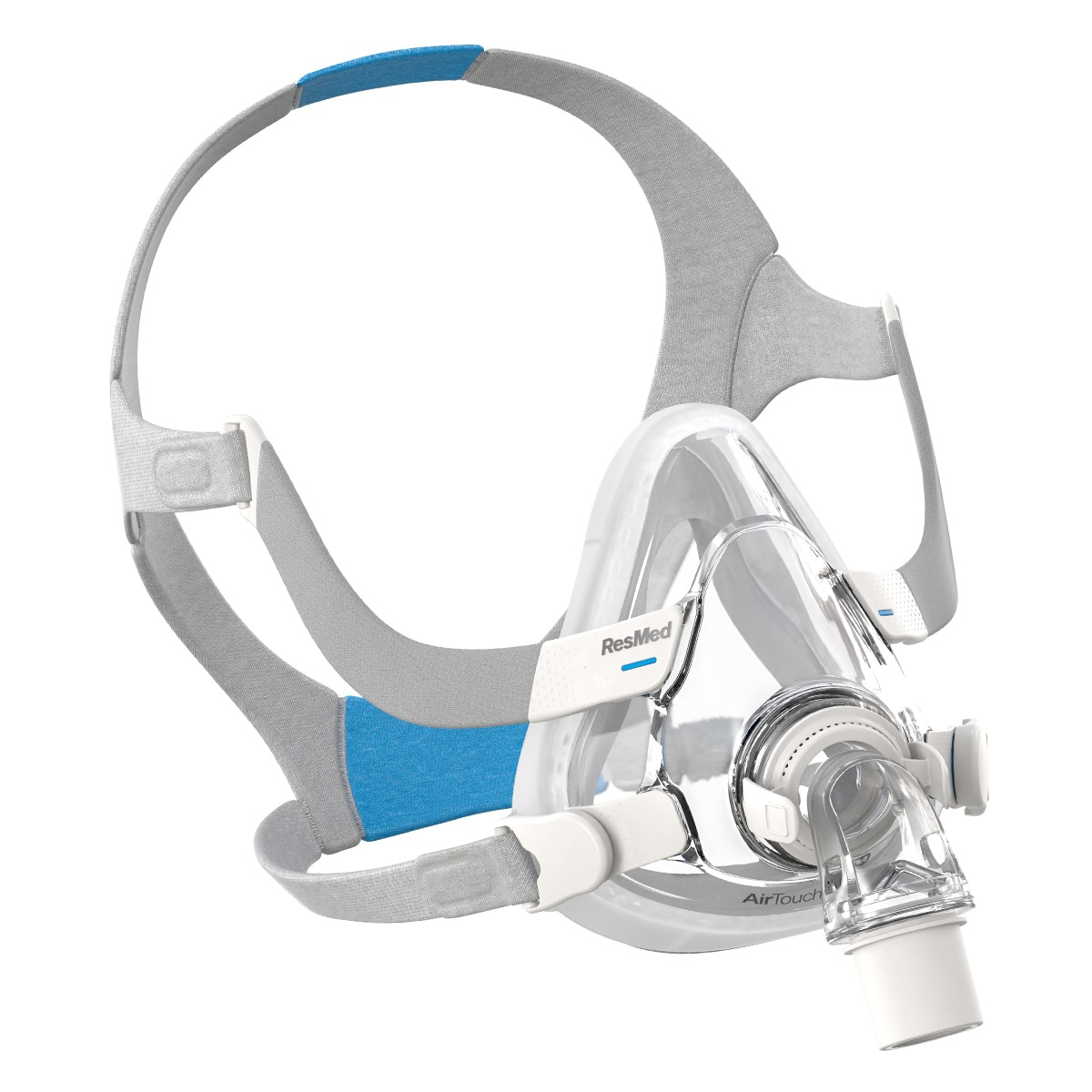 AirTouch™ F20  Full Face CPAP/BiLevel Mask with Headgear (2 Extra Cushions Free)