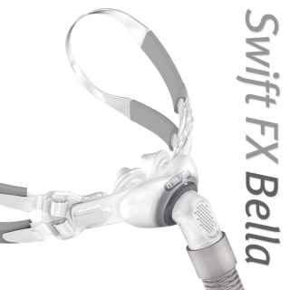 Swift™ FX Bella Nasal Pillow CPAP/BiLevel Mask with Headgear
