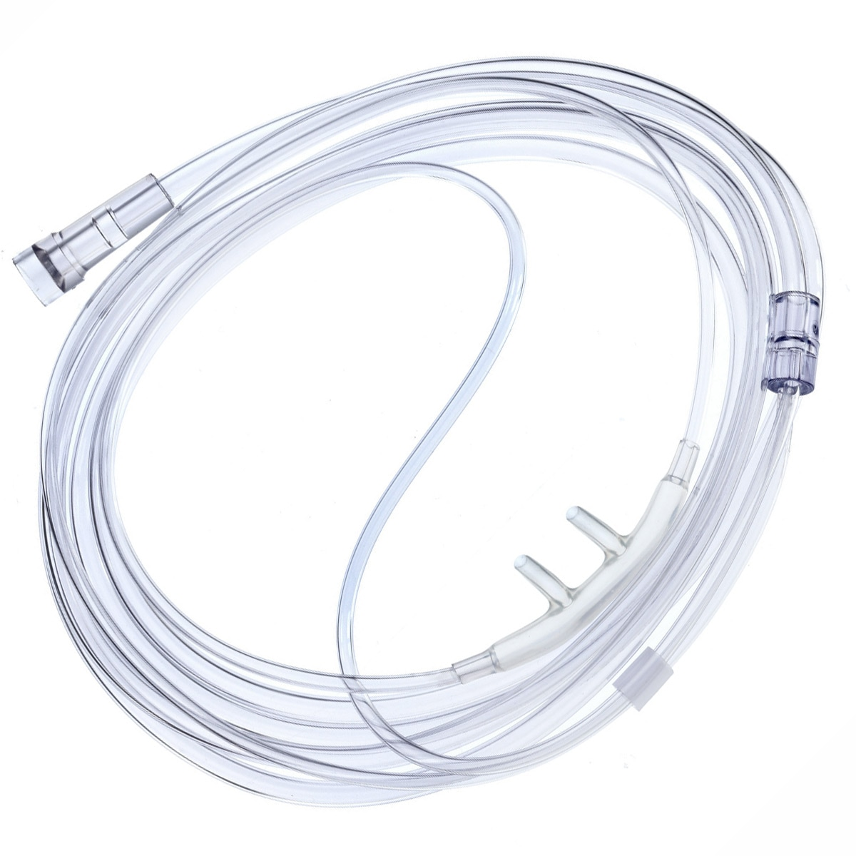 Softech Adult Nasal Cannula with 25 Foot Star Lumen Oxygen Supply Tubing (5 Pack)