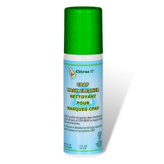 Citrus II Cleaning Spray for CPAP/BiPAP Masks & Equipment (Travel 1.5oz Non-Aerosol)