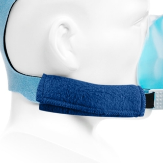 StrapGuard Fleece Strap Covers for CPAP/BiPAP Masks & Headgear (1-Pair)