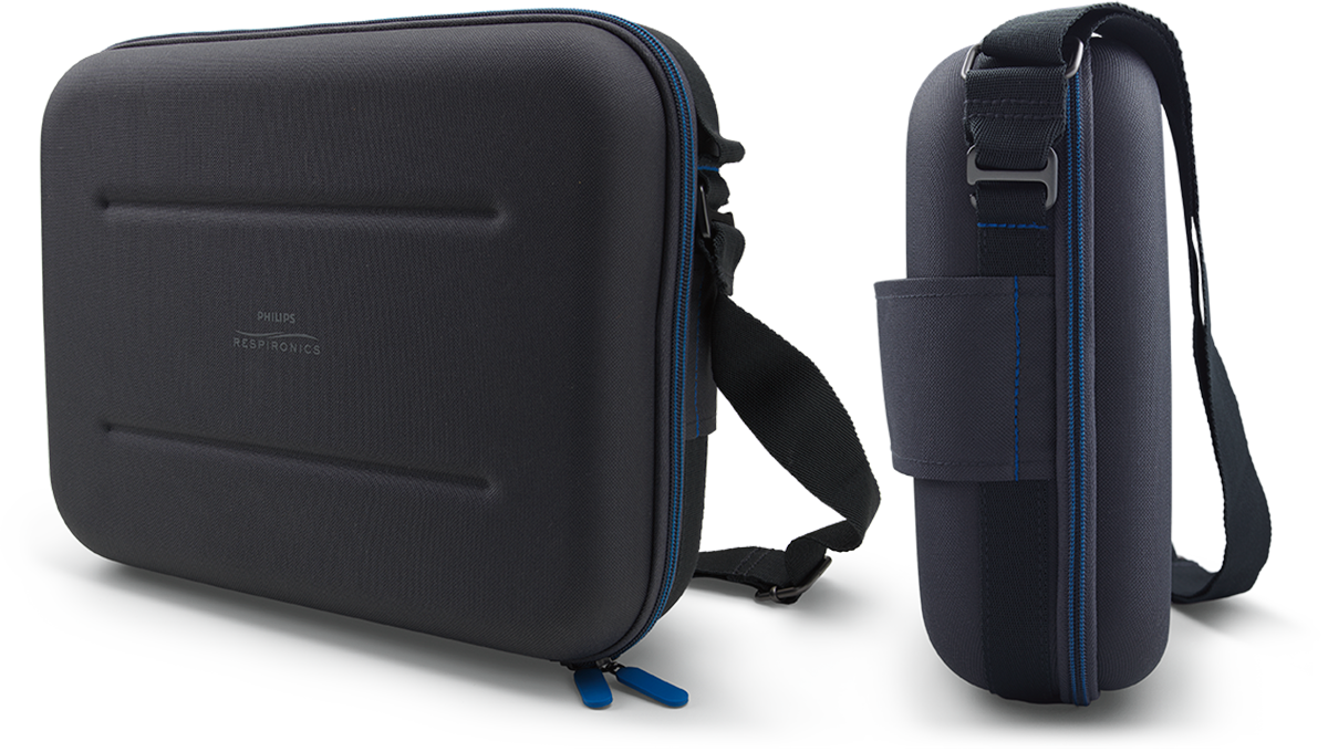 open cpap bipap travel briefcase