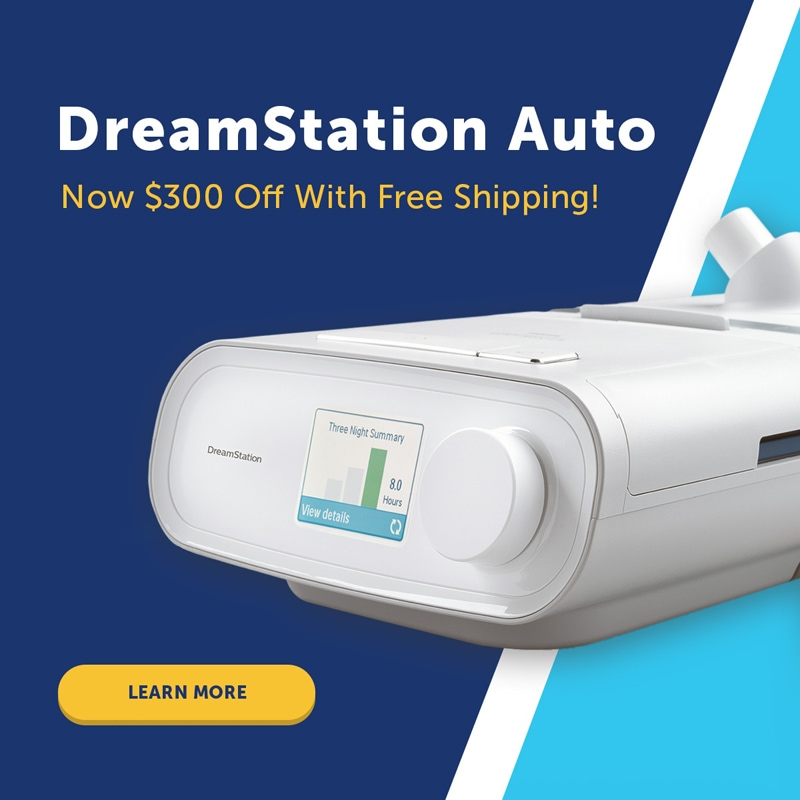 DreamStation Auto CPAP Machine System with A-Flex