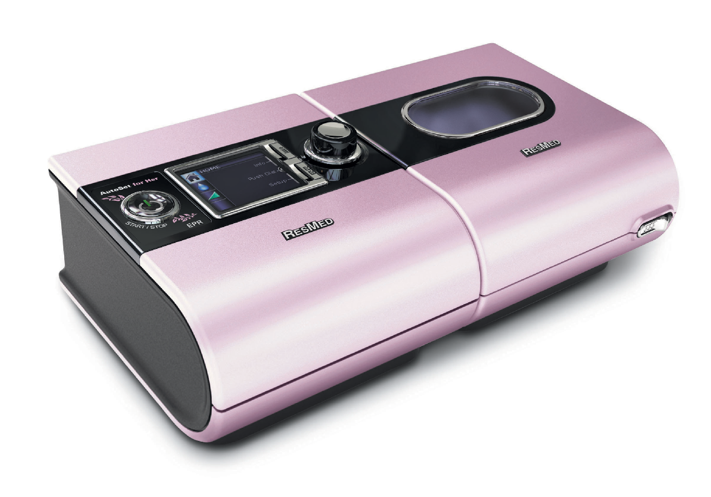 ™ For Her Auto CPAP with H5i™ Heated Humidifier DISCONTINUED #7D4E69