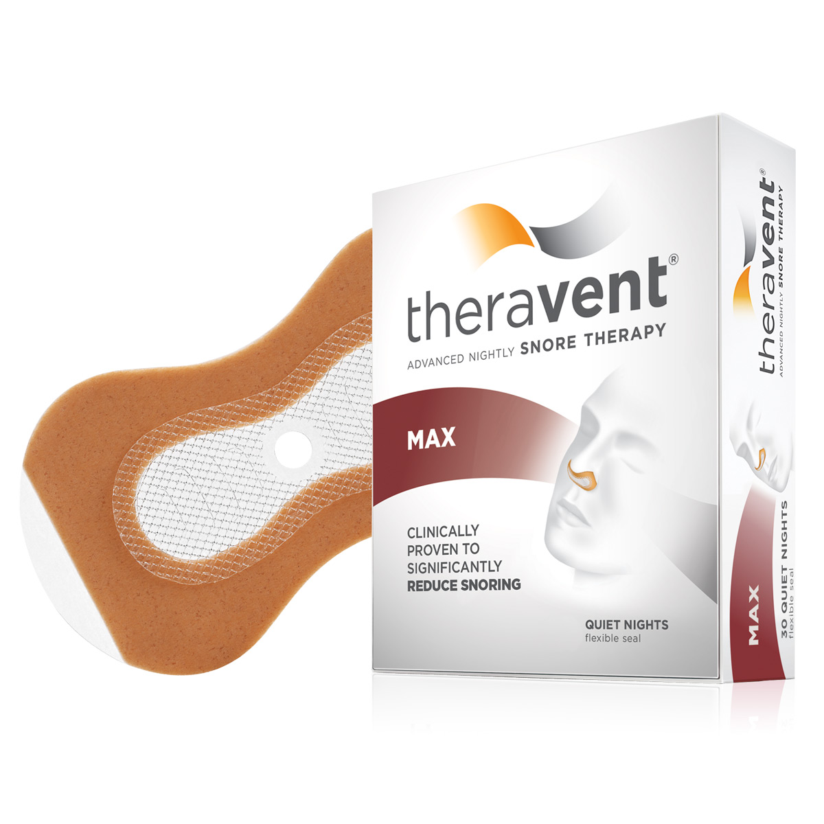 If you're fed up with snoring, don't give up. Get tough on snoring with Theravent®, the first and only FDA-approved device to use EPAP technology. See the science behind .